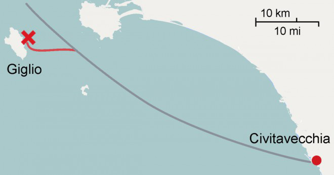 Carnival cruise line fartyg någonsin sjunkit?