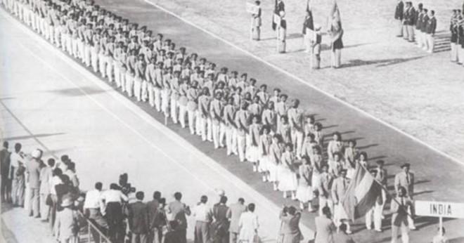 Som startade första asiatiska spelen?