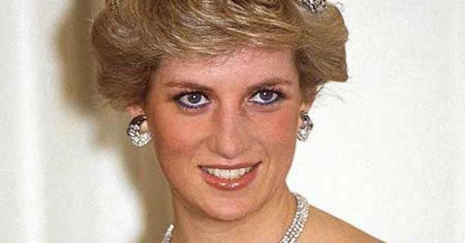 Där var Dianas begravning?