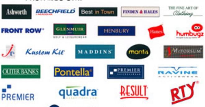 Vilka företag har en blå tass skriva ut med en DU som logotypen?