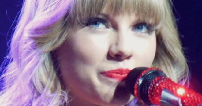 Vad album är Taylor Swifts låt medelvärdet på?