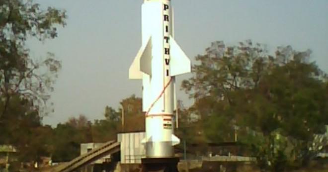 Vad heter den första missilen ytan till ytan i Indien?