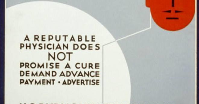 Varför har människor köpa patentskyddade läkemedel på 1700-talet?