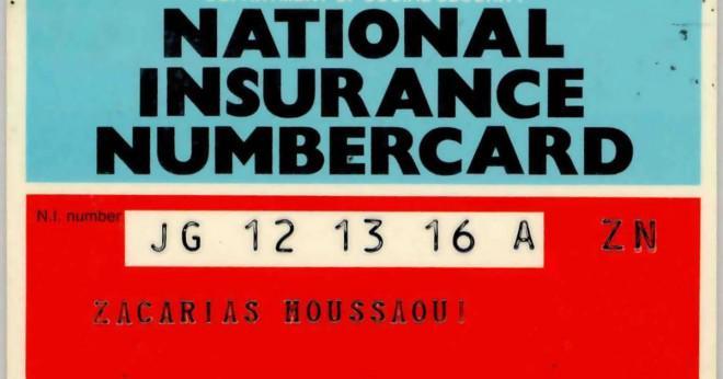 Hur länge håller du din nationellt försäkringsnummer för?