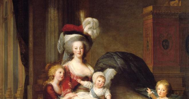 Var Marie Antoinette en bra drottning av Frankrike?
