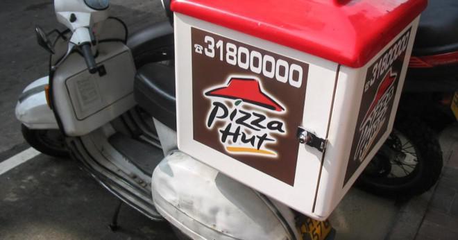 Hur många kalorier har Pizza Hut?