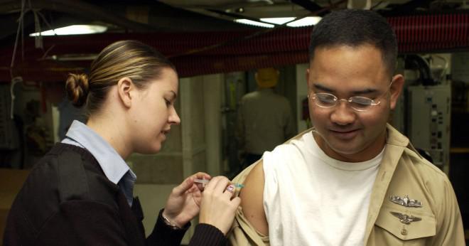 Kan du få influensa skott efter att jag har haft influensa?