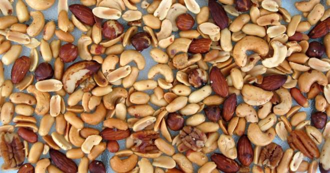 Hur många jordnötter i genomsnitt är i en påse?