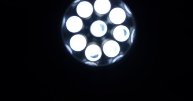 Vilken typ av energiomvandling är en ficklampa?