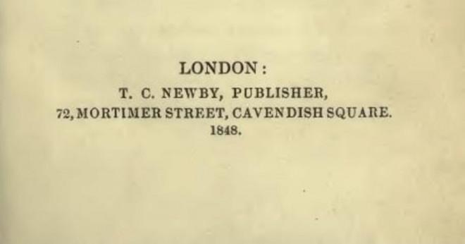 Vilka böcker har Charlotte Brontë skriver?
