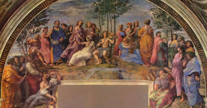 Hur blev Raphael Sanzio en målare?