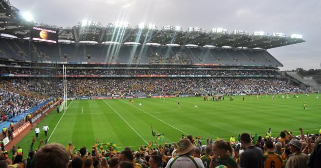 Hur många län har inte vunnit en alla Irland fotboll titel?