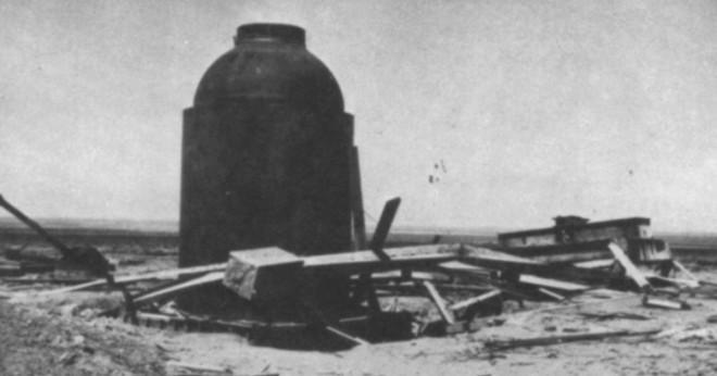 Vilket år skapades den första atombomben?