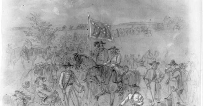 Vad var två strategier förbundsmedlemmarna används i inbördeskriget?