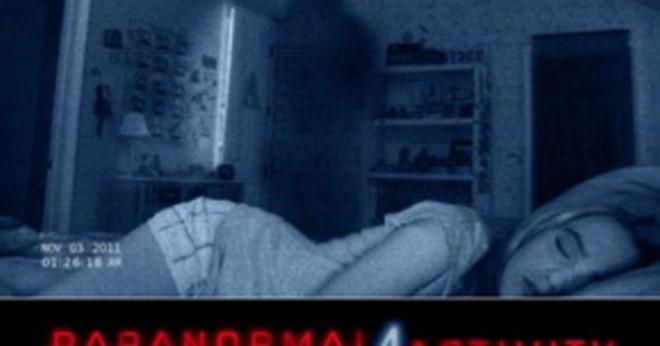 När inte Paranormal Activity 3 ut i röd-box?