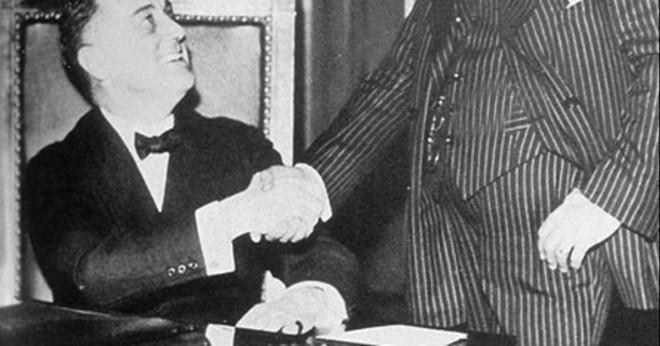 Vilka var några bra saker som Franklin Delano Roosevelt gjorde?