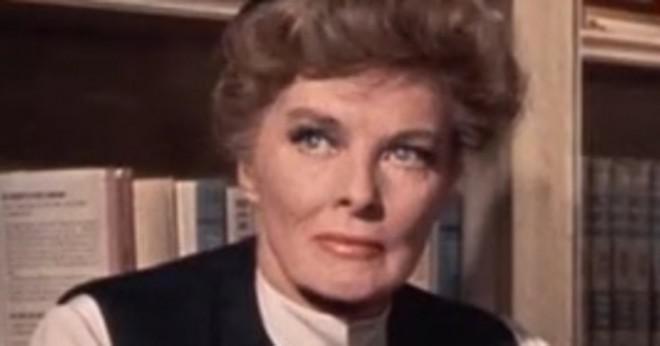 Var Katherine Hepburn i filmen True Grit?