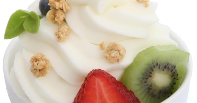 frysa turkisk yoghurt