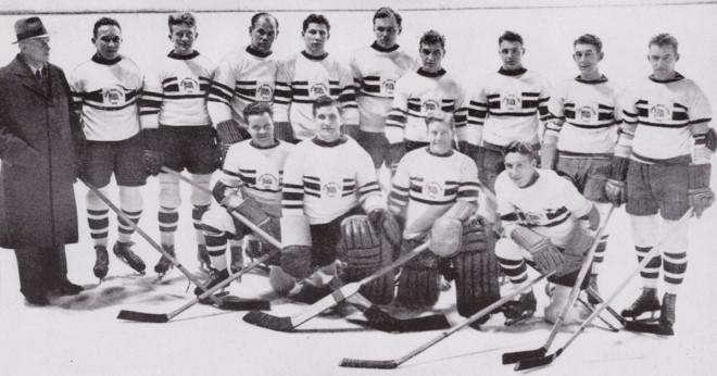 Mens ishockey guld medalj?