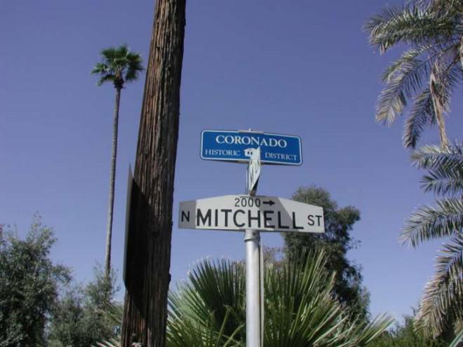 Kvarteret historiska Coronado - en återupplivas och levande stadsdel i Midtown Phoenix