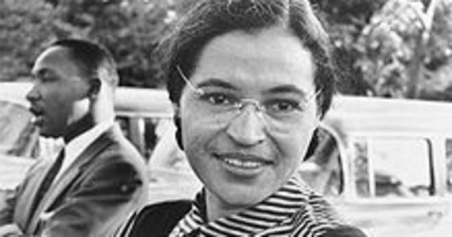 Var Rosa Parks gravid på bussen i Montgomery?