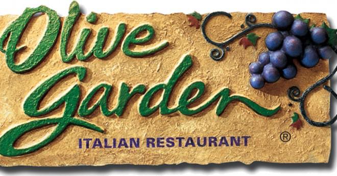 Hur många objekt som finns på Olive Garden menyn?