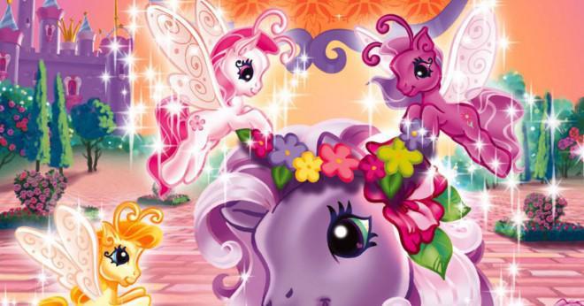 Som inte är namnet på en My Little Pony och alternativen är Blossom Snuzzle Gin-Fizz och Applejack?