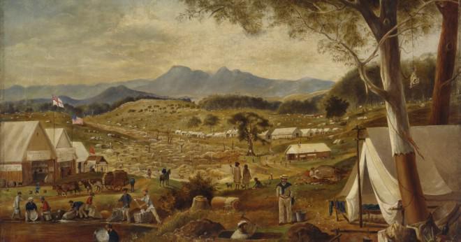 Vem upptäckte guld i Australien?