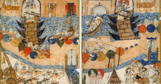 Vilka delar av världen Djingis khan styra?