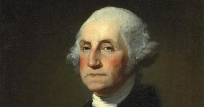 Vem var den första presidenten av Förenta staterna?