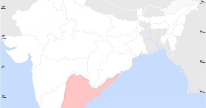 Vem skriver du påverkan menande i Telugu?
