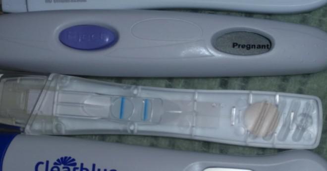 graviditetstest efter en vecka