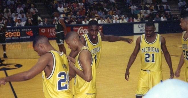 Vad 5 spelare fick Michigans Fab 5?