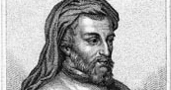 Vem var Geoffrey Chaucers far?