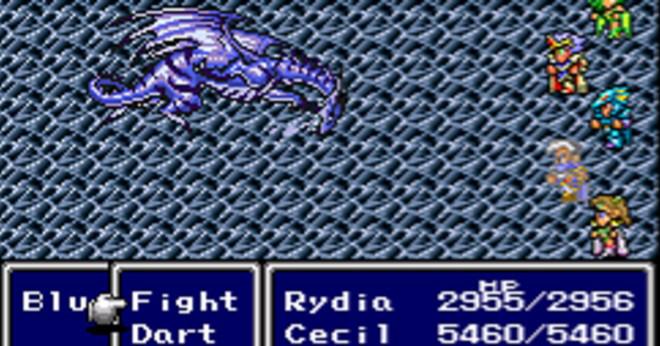 Vad är Scarmigliones hälsa i Final Fantasy 4?