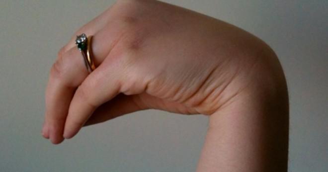 kramp i fingrar