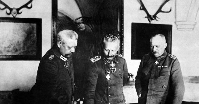 Varför var den tyska kaiser svartsjuk av Storbritannien?