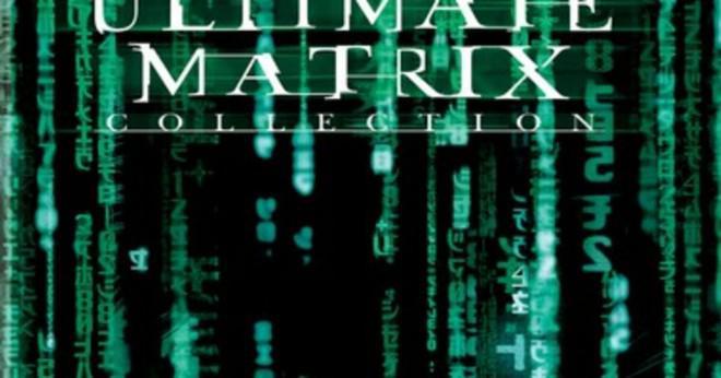 Vilken ordning gjorde matrix filmerna kommer?