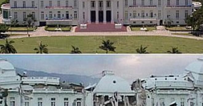 Vad som orsakade den haitiska jordbävningen i januari 2010?