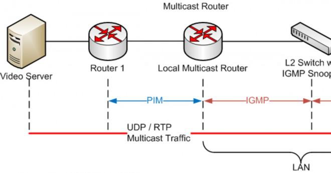 vad är multicast