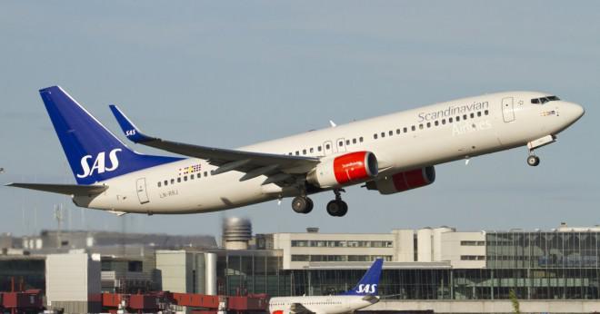 Hur mycket bränsle har en Boeing 737-800 förbruka?
