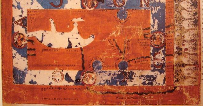 Vad är världens äldsta karta i världen?