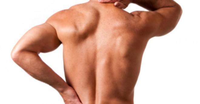 Vad skulle orsaka övre ryggont ibland tillsammans med bröstet spasmer?