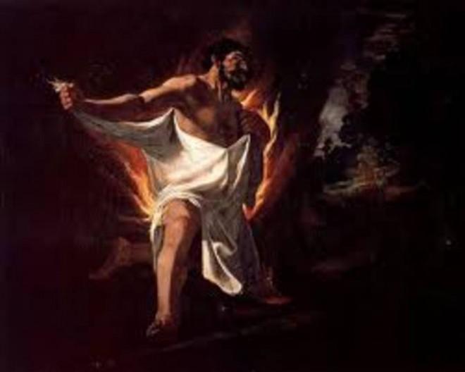 Herakles, eller Hercules, mytisk hjälte