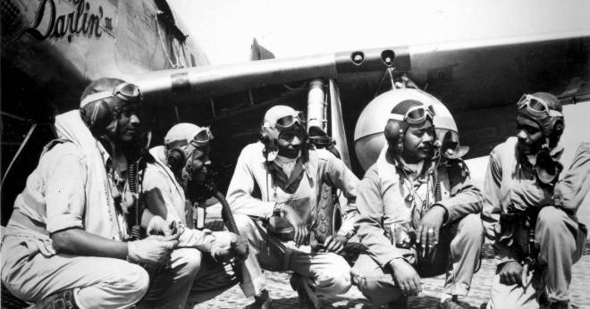 Vilka är de återstående Tuskegee airmen?