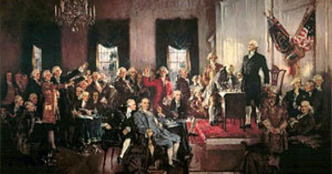 Federalistiska och anti federalistiska argument för och emot konstitutionen?