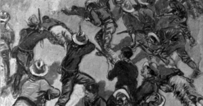 Vem var berömda ledare av Rough Riders?