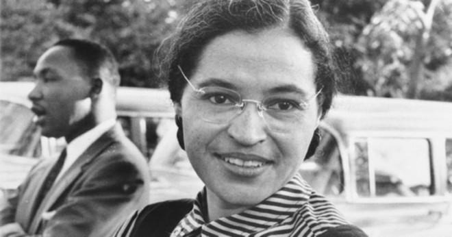 Vad var Rosa Parks mellannamn?
