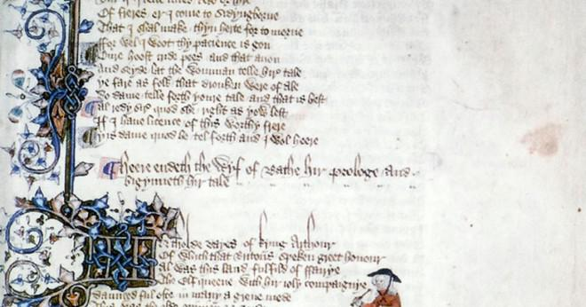 Vem skrev Canterbury Tales?