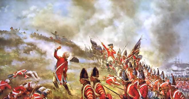 Vad hände strax efter kronan infördes de första nya skatterna på kolonierna?
